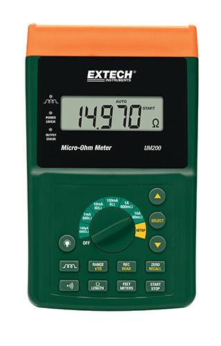 Extech UM200 – 10A Microohmmetre