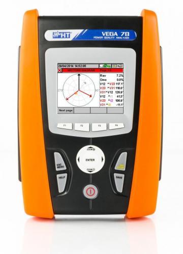 HT-Italia Vega78- Güç Kalitesi ve Enerji Analizörü