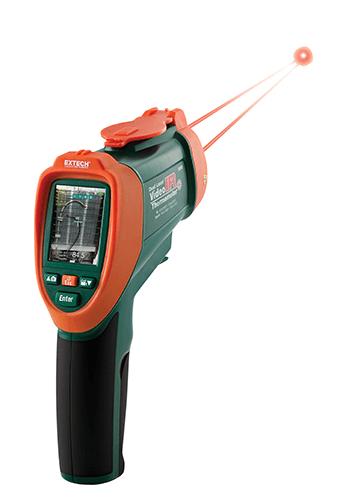 Extech VIR50: Çift Lazer IR Video Termometre