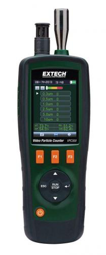 Extech VPC300: Dahili Kameralı Video Partikül Ölçer